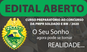 Disciplina Isolada - ECA - Curso Preparatório para Soldado da Polícia Militar e do Corpo de Bombeiros do Paraná – PMPR e BMPR 2020